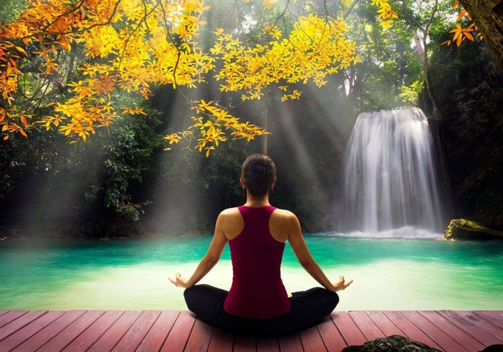 Yoga waterfall RF