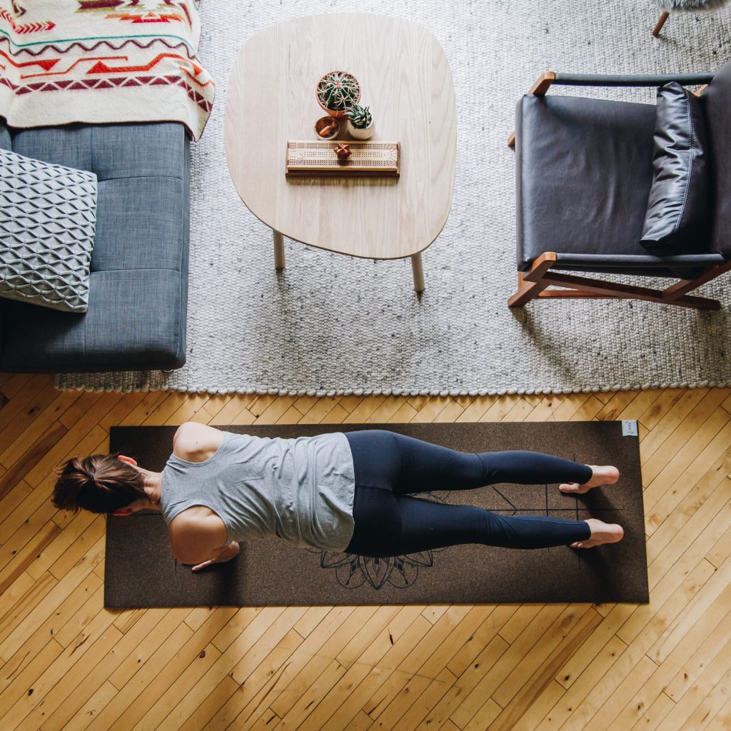 Livity Yoga Cork Yoga Mat