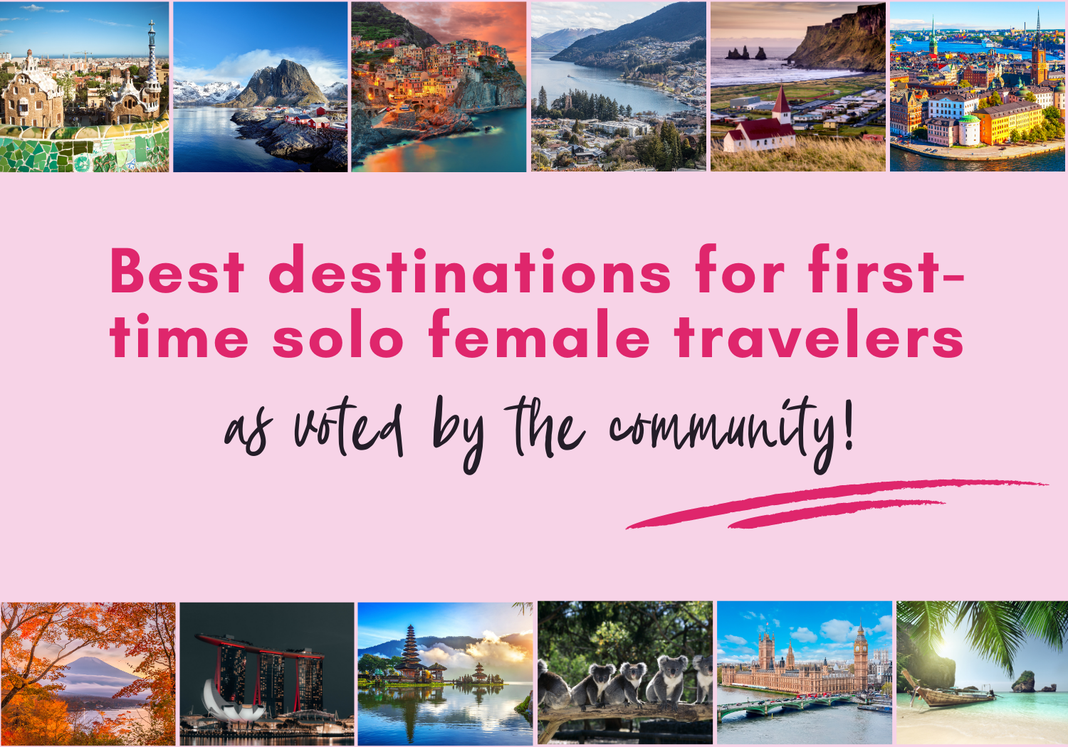 Best country for first time solo travel