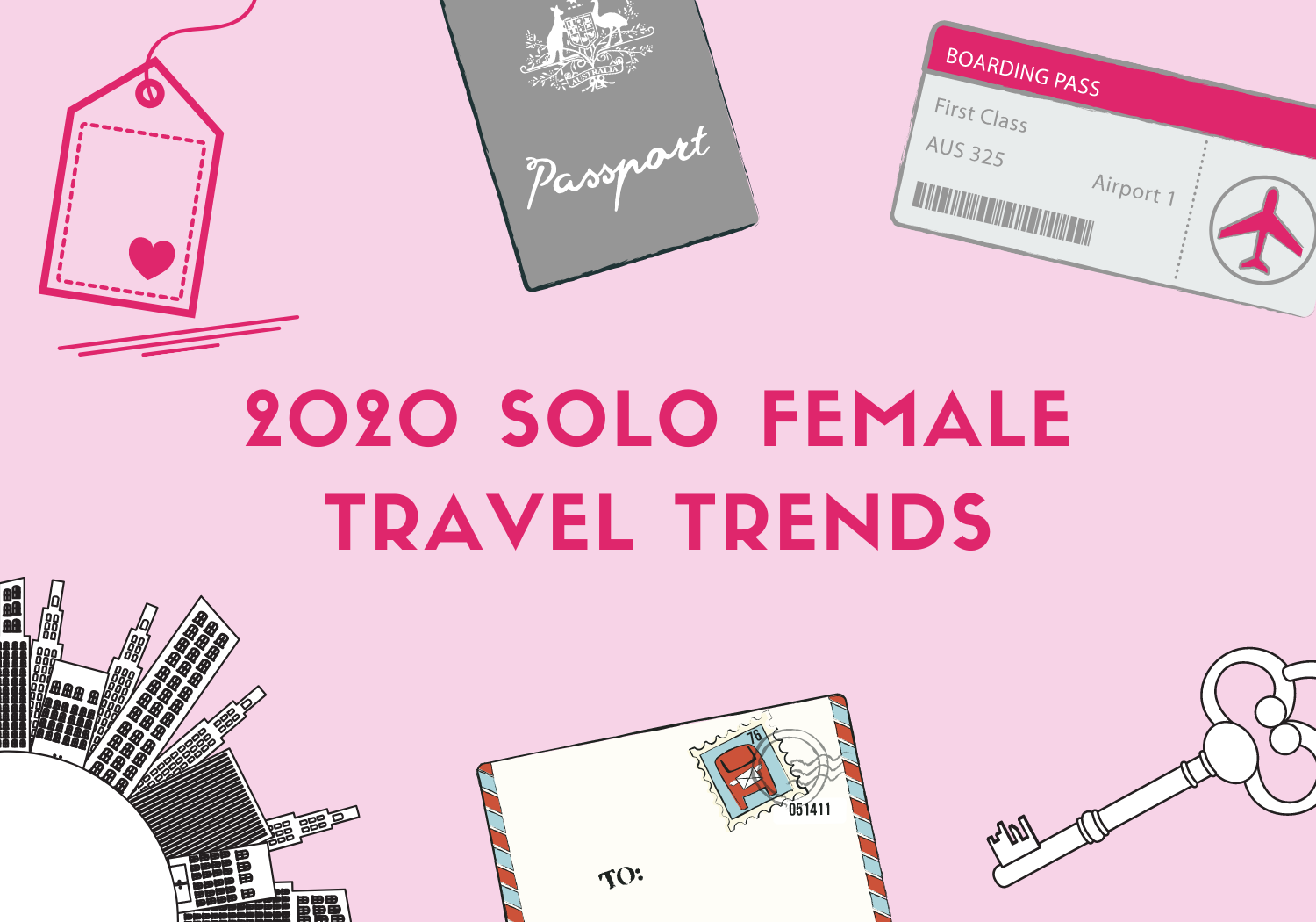 Solo female travel statistics