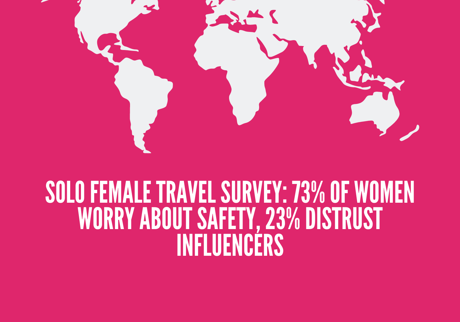 Women worry about safety when traveling solo